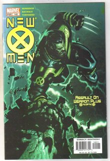 New X-men #145 comic book mint 9.8