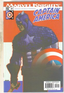 Captain America #21 comic book mint 9.8