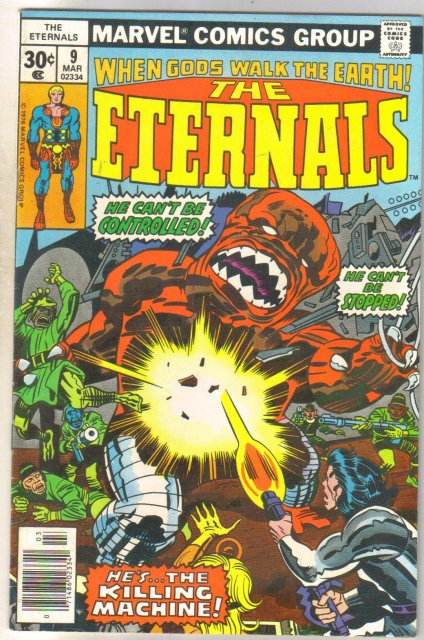 Eternals #9 comic book mint 9.8