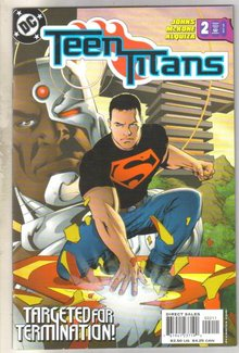 Teen Titans #2 comic book mint 9.8