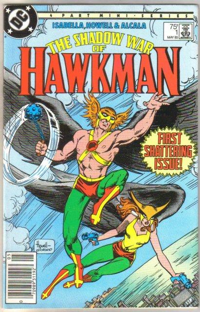 The Shadow War of Hawkman #1 comic book mint 9.8