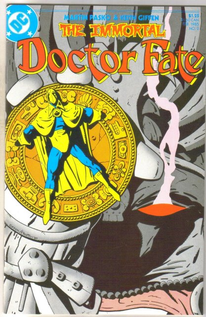 The Immortal Doctor Fate #2 comic book mint 9.8