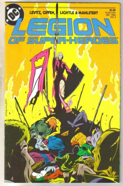 Legion of Super-heroes #5 comic book mint 9.8