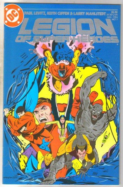 Legion of Super-heroes #1 comic book mint 9.8
