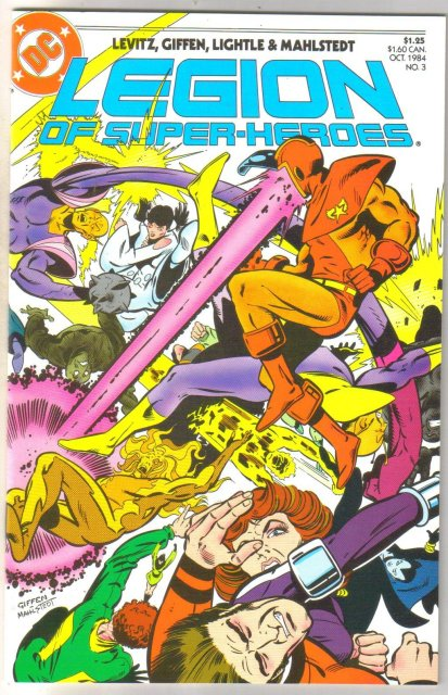 Legion of Super-heroes #3 comic book mint 9.8