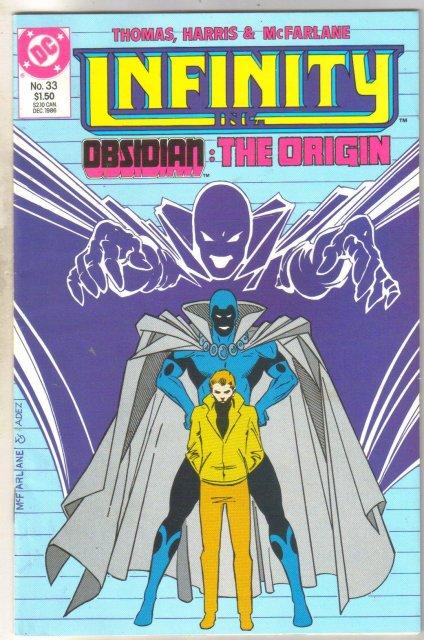 Infinity Inc. #33 comic book near mint 9.4