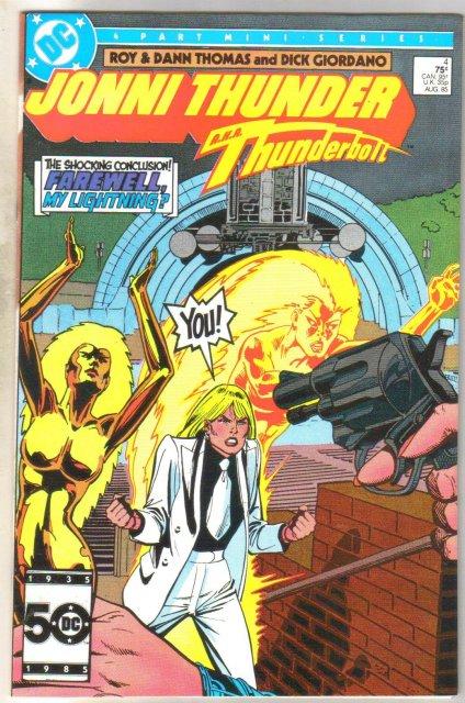 Jonni Thunder #4 comic book near mint 9.4