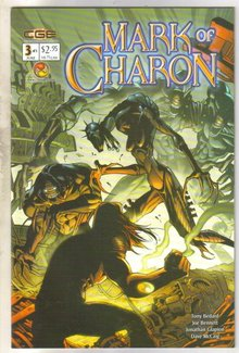 Mark of Charon #3 comic book near mint 9.4
