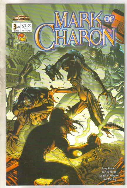 Mark of Charon #3 comic book near mint 9.4