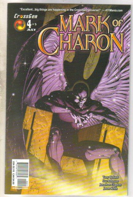 Mark of Charon #4 comic book near mint 9.4
