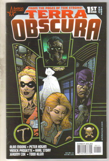 Terra Obscura #1 comic book near mint 9.4