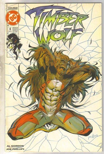 Timber Wolf #4 comic book near mint 9.4