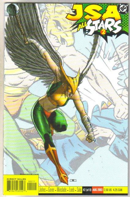 JSA All Stars #2 comic book near mint 9.4