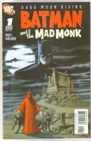 Batman and the Mad Monk #1 comic book near mint 9.4