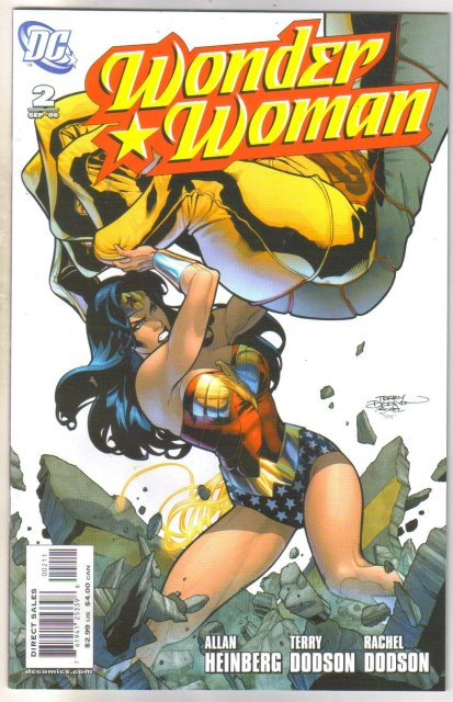 Wonder Woman #2 comic book near mint 9.4