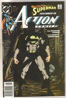 Action Comics #644 comic book very fine 8.0