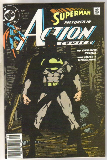 Action Comics #644 comic book very fine 8.0