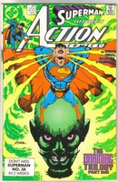 Action Comics #647 comic book mint 9.8