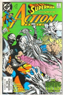 Action Comics #648 comic book mint 9.8