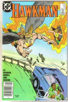 Hawkman #15 comic book mint 9.8