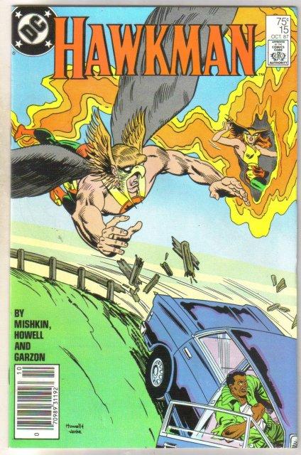 Hawkman #15 comic book mint 9.8