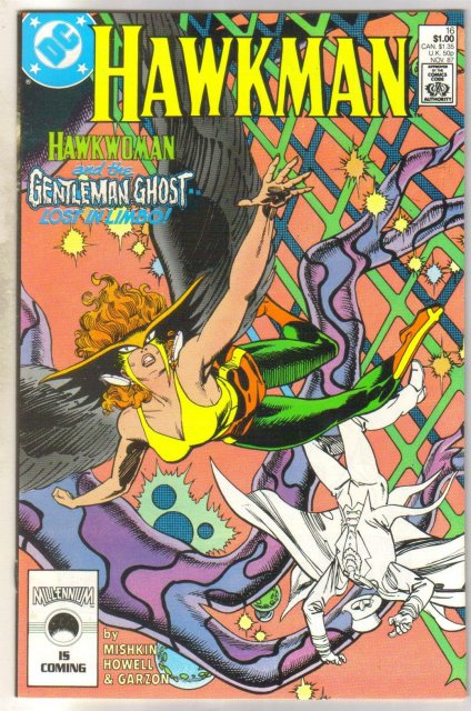 Hawkman #16 comic book mint 9.8