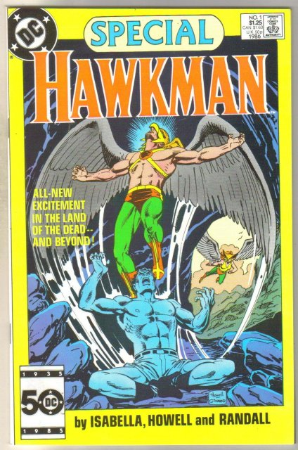 Hawkman Special #1 comic book mint 9.8