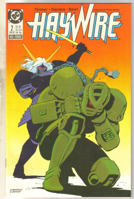 Haywire #2 comic book mint 9.8
