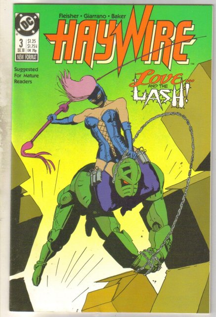 Haywire #3 comic book mint 9.8