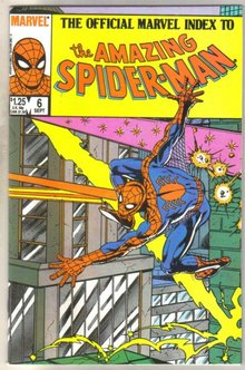 The Official Marvel Index to the Amazing Spider-man #6 comic book mint 9.8