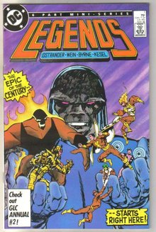 Legends #1 comic book mint 9.8