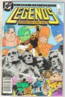 Legends #3 comic book near mint 9.4