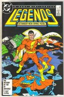 Legends #5 comic book near mint 9.4