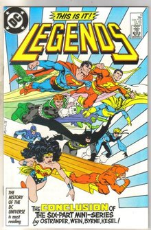 Legends #6 comic book near mint 9.4