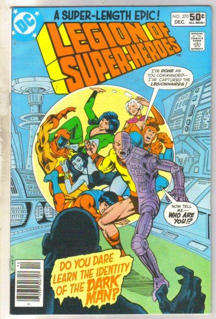 Legion of Super-heroes #270 comic book near mint 9.4