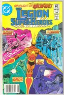 Legion of Super-heroes #283 comic book near mint 9.4