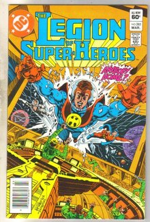 Legion of Super-heroes #285 comic book near mint 9.4