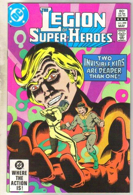 Legion of Super-heroes #299 comic book near mint 9.4