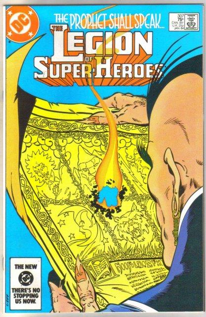 Legion of Super-heroes #307 comic book near mint 9.4