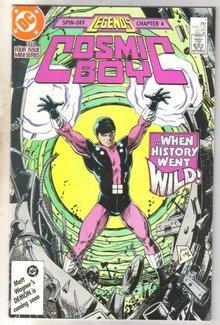 Cosmic Boy #1 comic book near mint 9.4
