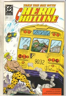 Hero Hotline #2 comic book near mint 9.4