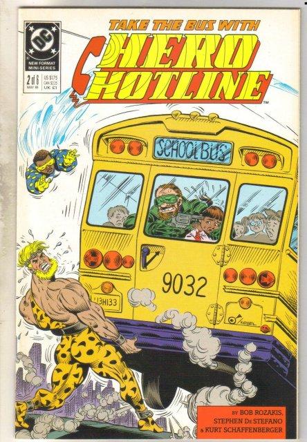 Hero Hotline #2 comic book near mint 9.4