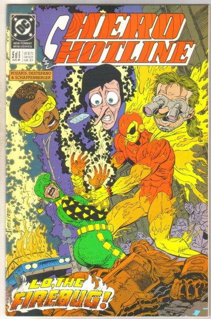 Hero Hotline #5 comic book near mint 9.4