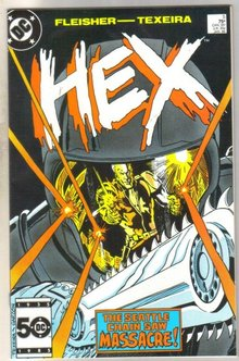 Hex #5 comic book near mint 9.4