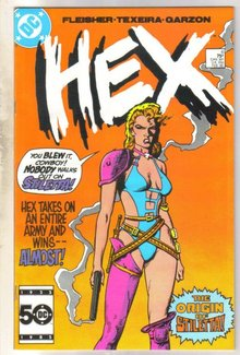 Hex #6 comic book near mint 9.4