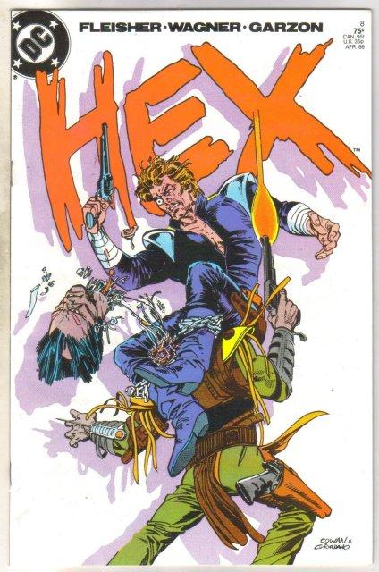 Hex #8 comic book near mint 9.4