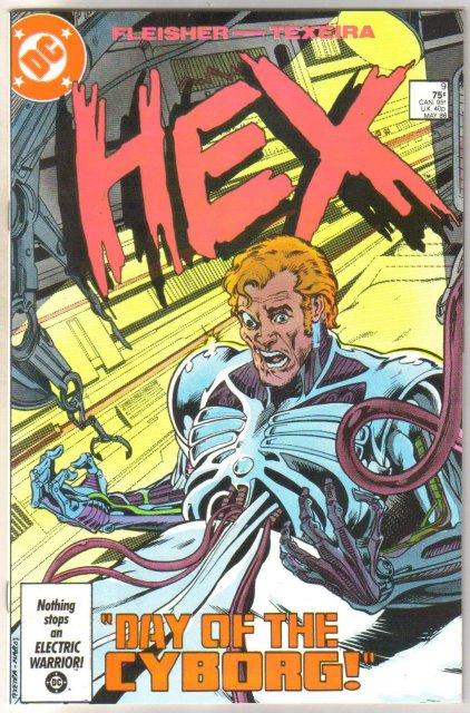 Hex #9 comic book near mint 9.4