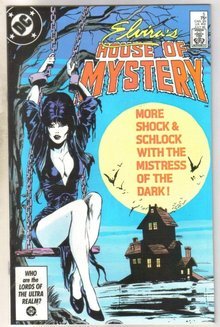 Elvira's House of Mystery #5 comic book near mint 9.4