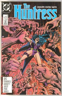 The Huntress #3 comic book near mint 9.4