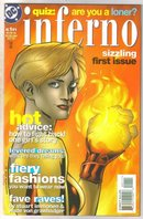 Inferno #1 comic book near mint 9.4